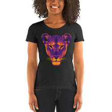 Load image into Gallery viewer, The Dark Lioness Women's Tri-Blend T-Shirt