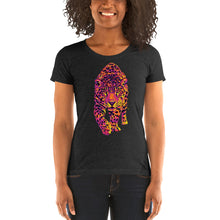 Load image into Gallery viewer, The Hot Jaguar Jungle Cat Women's Tri-Blend T-Shirt