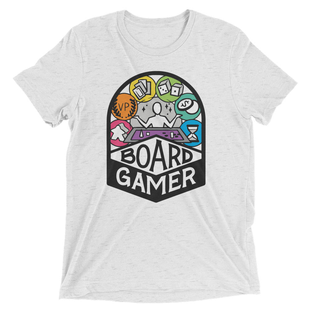 Board Gamer Unisex Tri-Blend T-Shirt