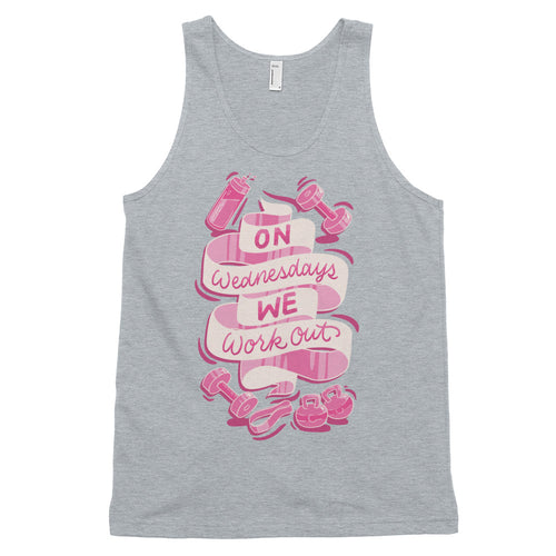 On Wednesdays We Work Out Unisex Tank Top