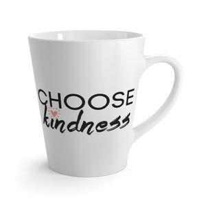 Choose Kindness 12oz Coffee Latte mug - xo, Rachel