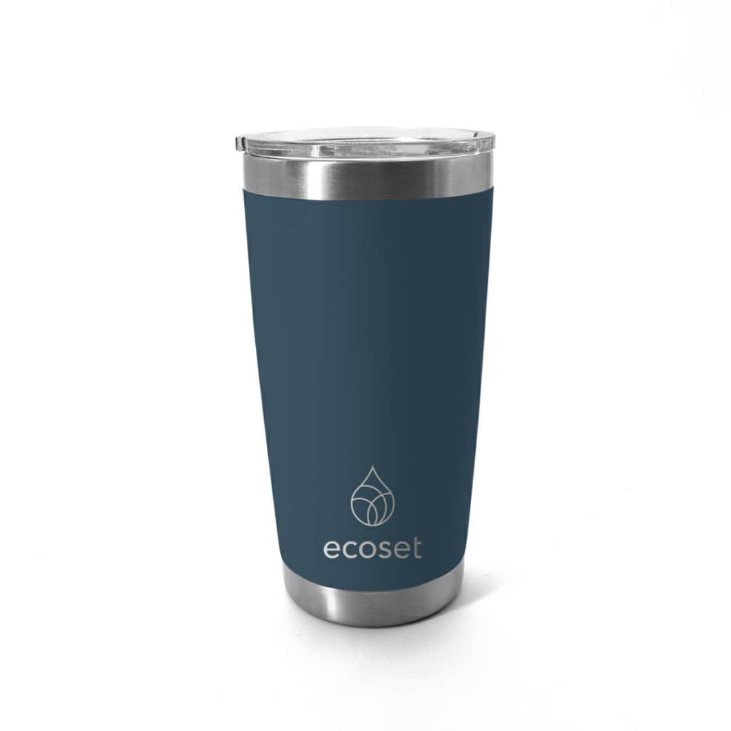 Insulated travel mug 20oz navy