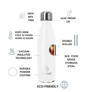 Insulated water bottle specifications