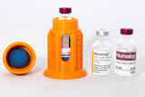 2 Piece Insulin Vial Protective Case W/ Windows