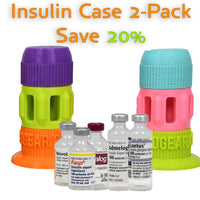 Insulin Vial Case 3-Piece - Two Pack
