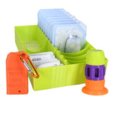 Loop Bundle Omnipod 12 Plus - Riley link Case + Vial Case + 12 Slot Plus Extra Drawer Organizer