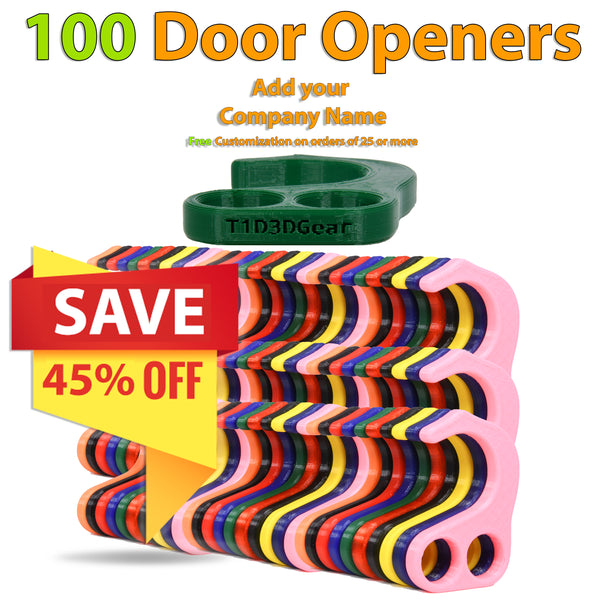 No Contact Door Opener - 100 Pack