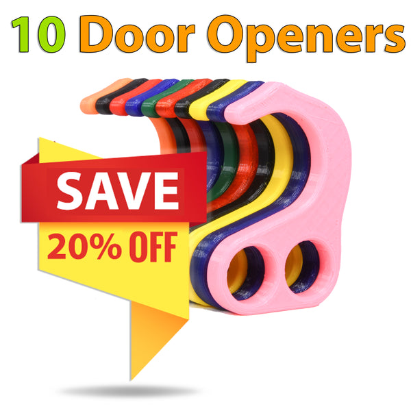 No Contact Door Opener - 10 Pack