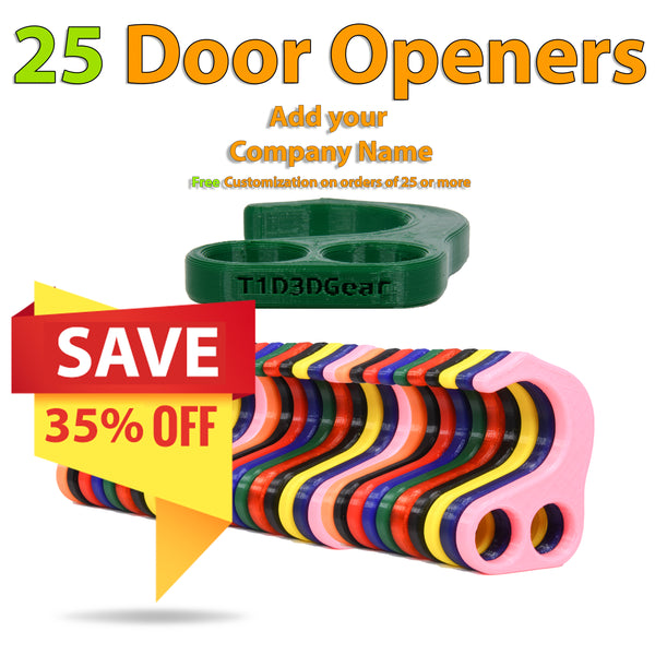 No Contact Door Opener - 25 Pack