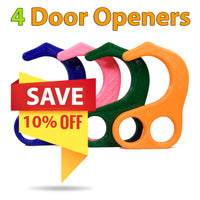 No Contact Door Opener - 4 Family Pack