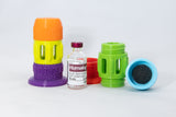 Insulin Vial Case 3-Piece for Humalog, Novalog, Fiasp, Lantus, Admelog