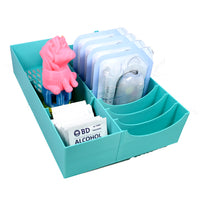 Omnipod Drawer Organizer - 12 Pod caddy Plus Extra Storage