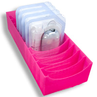 Omnipod Drawer Organizer - 12 Pod caddy
