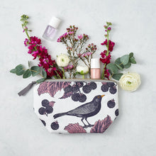 Load image into Gallery viewer, Blackbird & Bramble Cosmetic Bag