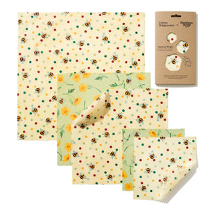 Emma Bridgewater Bees & Buttercups Print Beeswax Wraps