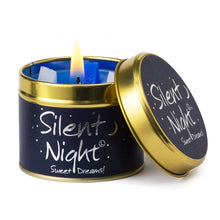 Load image into Gallery viewer, Silent Night Poured Scented Tin Candle
