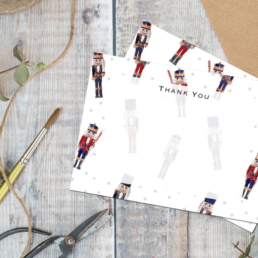 Nutcracker – Set of 6 Thank You Cards