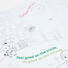 Load image into Gallery viewer, World Changer Fold Out Colour-In Greeting Card