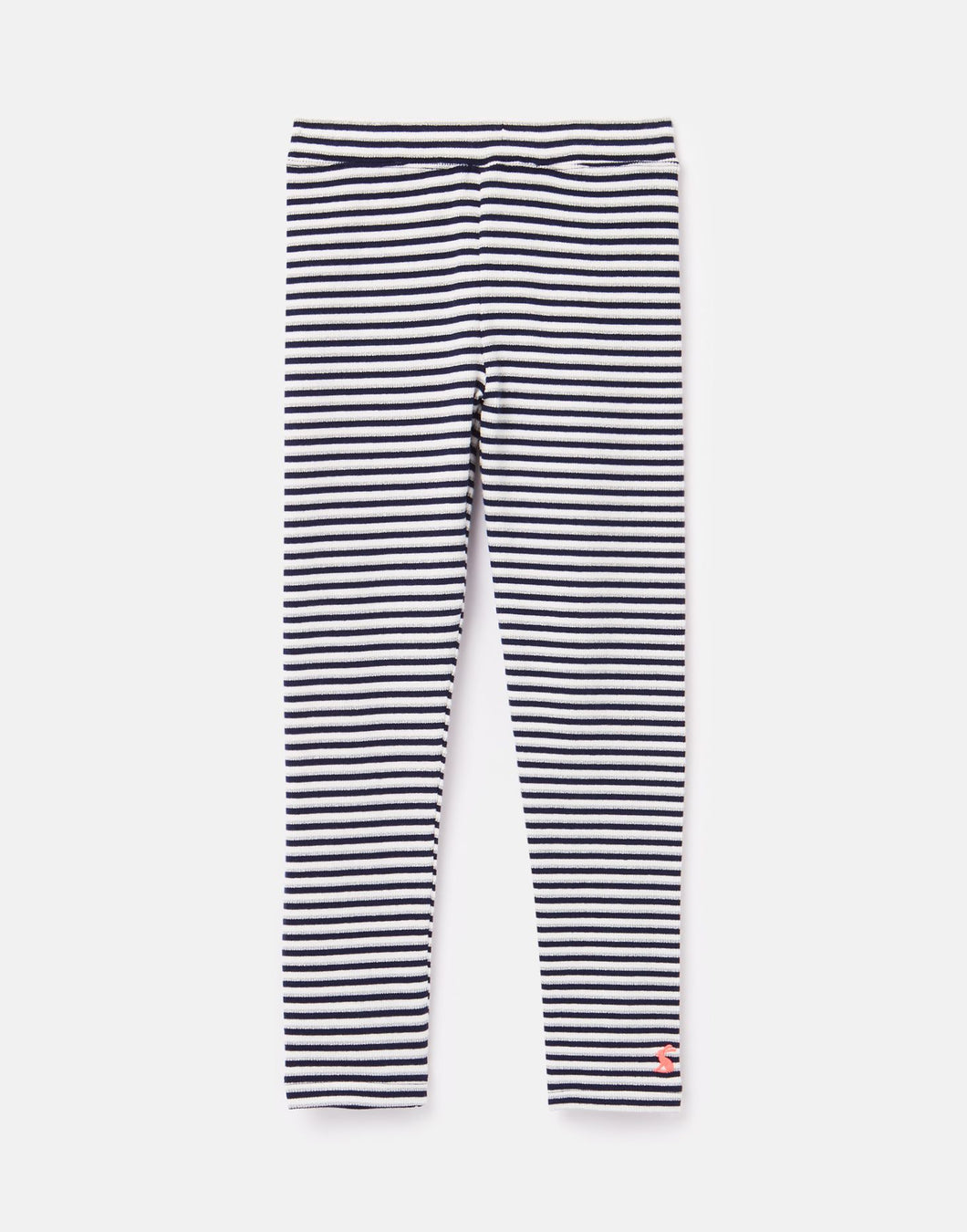 Annie Navy Silver Stipe Ribbed Leggings 3-5 Yrs
