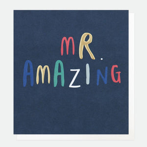 Mr Amazing Card