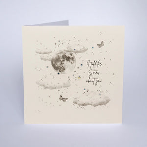 Love Struck - I Told The Stars About You Card