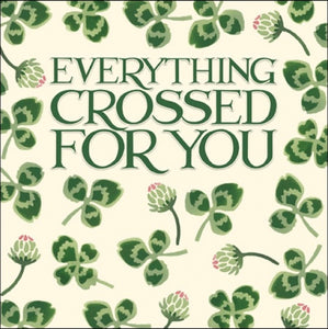 Emma Bridgewater Good Luck Everything Crossed For You