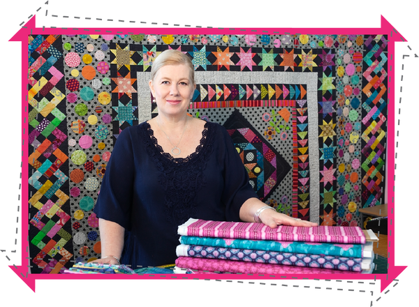 Liisa from The Quilters Corner