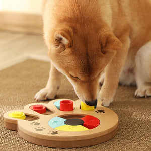 Dog Puzzle Food Tray