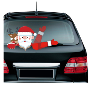 Christmas Rear Wiper Decals