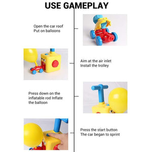 Balloon Launcher With Propulsion Toys