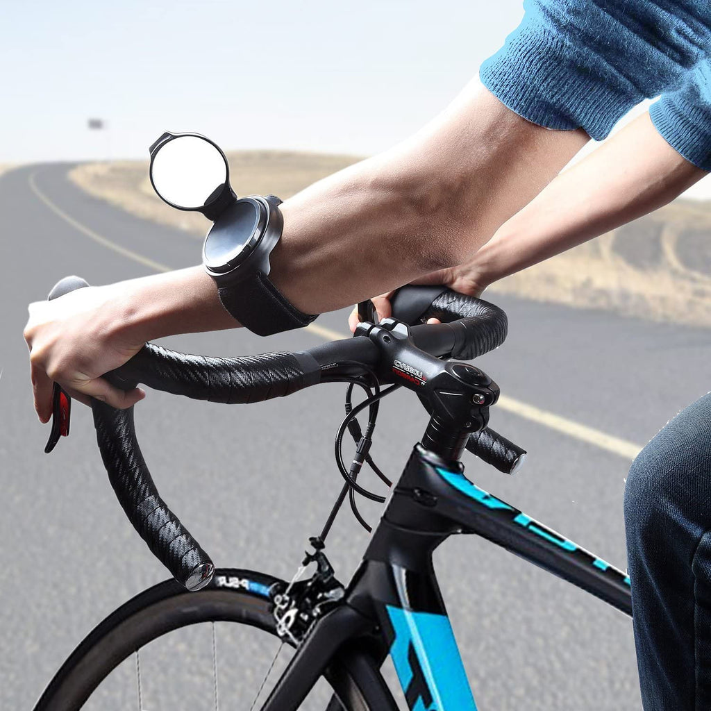RideHero™ Bicycle Wrist Mirror