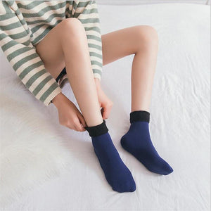 Snugly Velvet Winter Thermal Socks