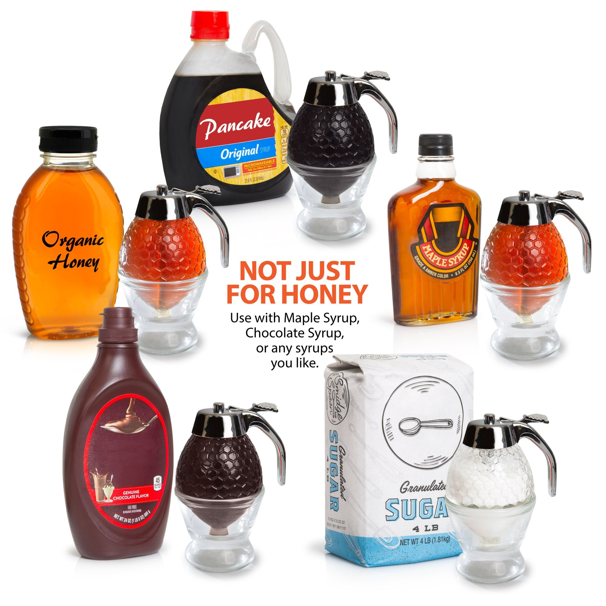 HoneyBae™ Honey Dispenser