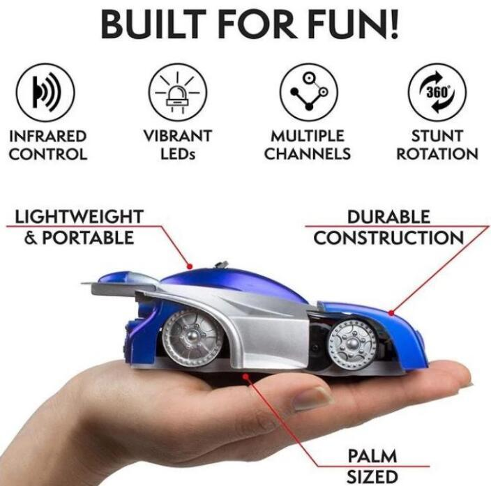 HyperKids™ Wall Ride RC Car