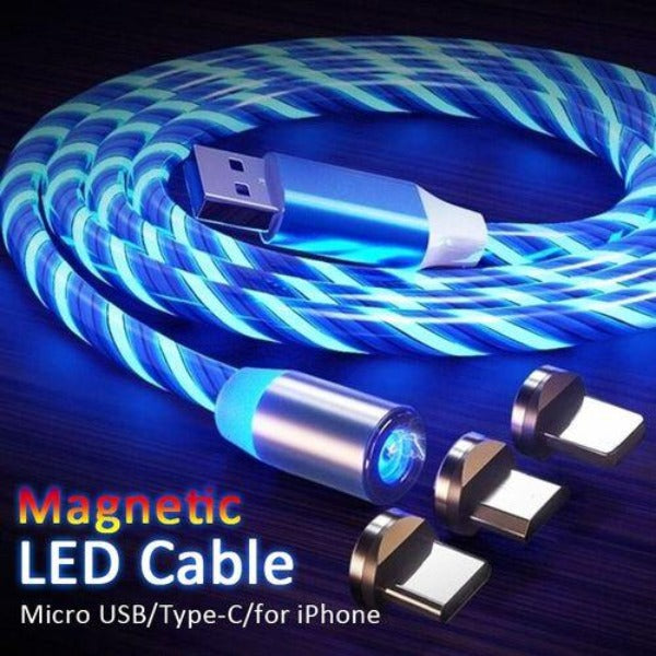 LED Magnetic Phone Charger Cable