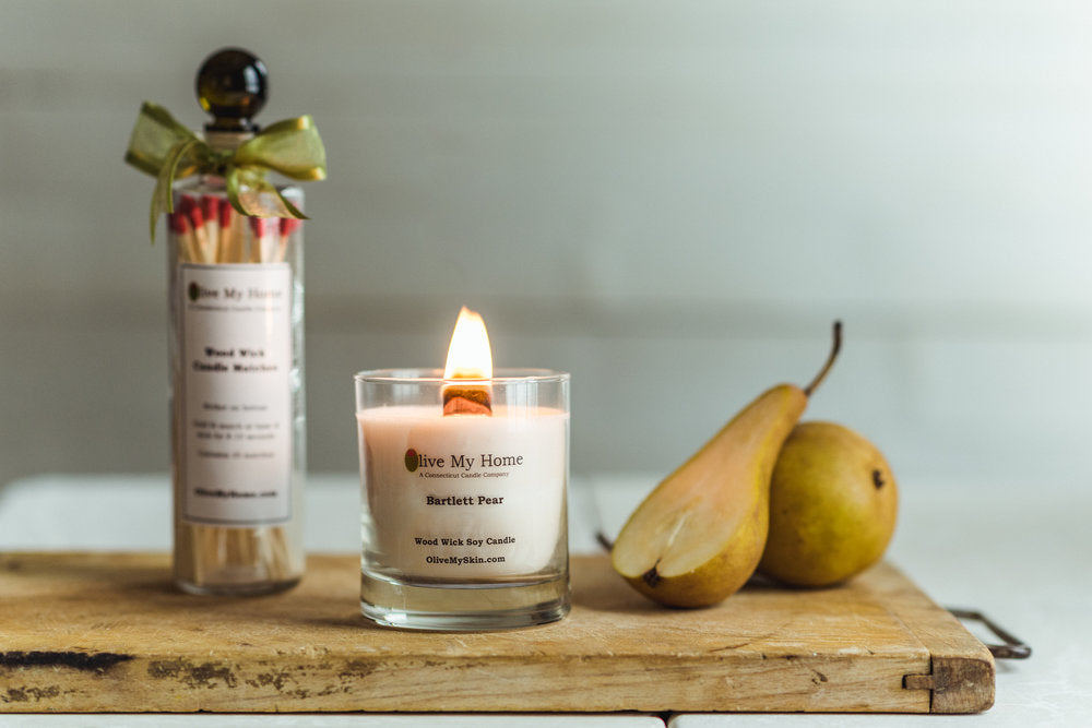 Wood Wick Soy Candles - Mini