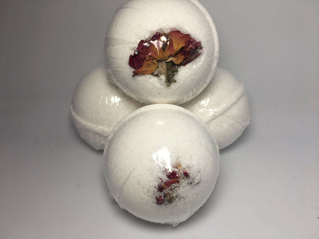 Bath Bomb Tea Rose