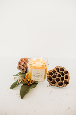 Beeswax Candle - 12 oz