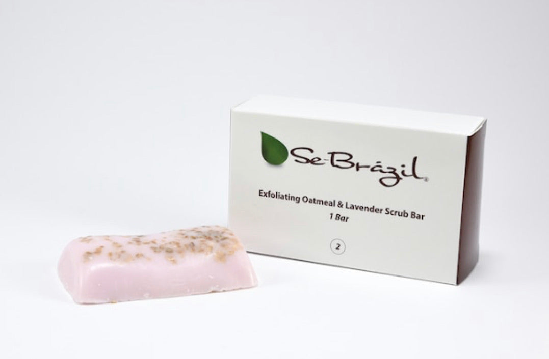 Exfoliating Oatmeal & Lavender Bar