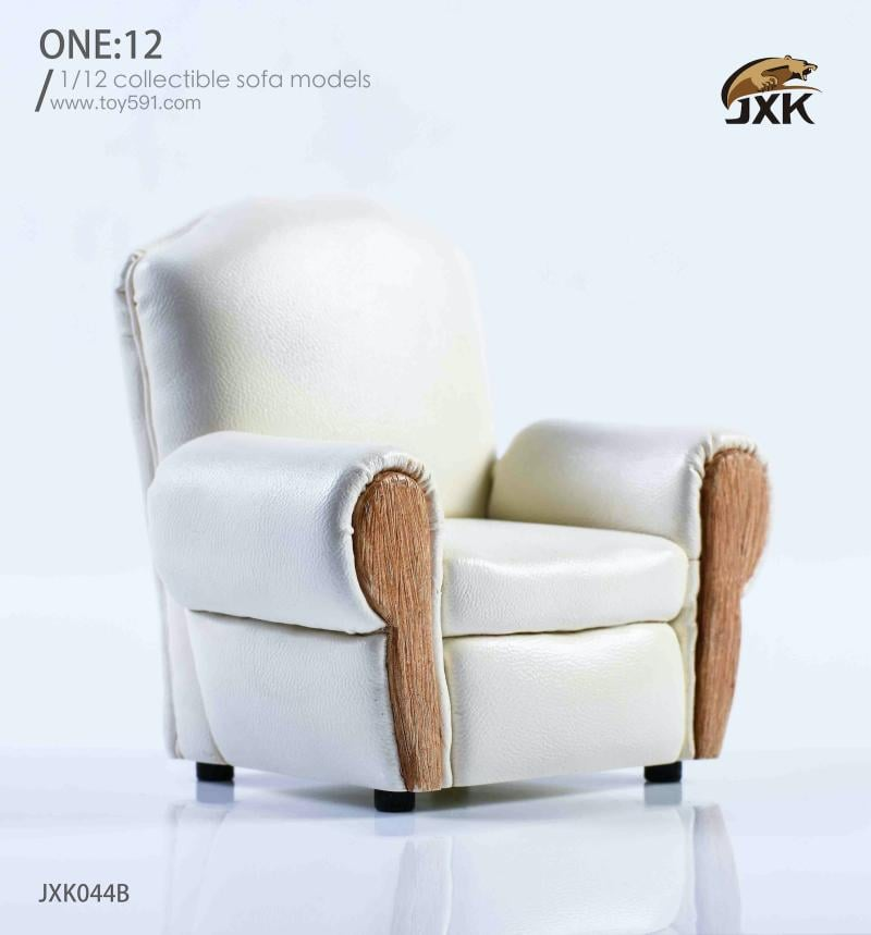 [Pre-Order]: JXK Studio - 1/12 Leisure Sofa White