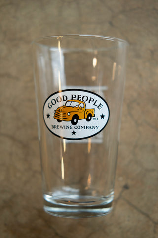 Good People Pint Glass
