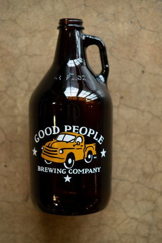 Good People Glass Growler