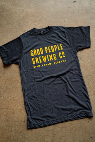 Good People Brewing Co. Text T-Shirt