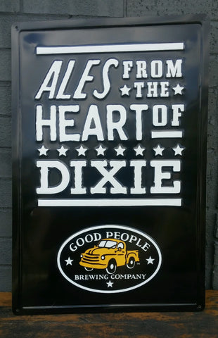 Ales from the Heart of Dixie Tin Tacker
