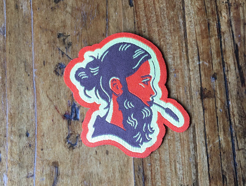 Bearded Lady Patch