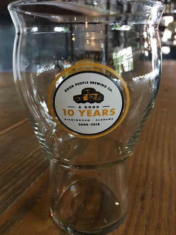 10th Anniversary Pint Glass