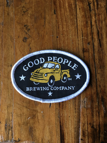 Good People Logo Black Patch
