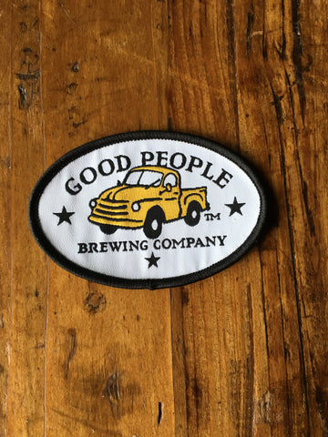 Good People Logo White Patch