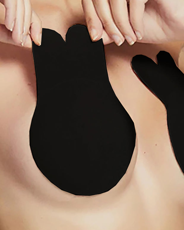2PCS Nipple Covers Strapless Self Adhesive Push Up Invisible Bra