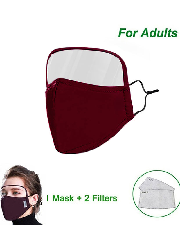 Outdoor Face Protective Face Mask With Eyes Shield